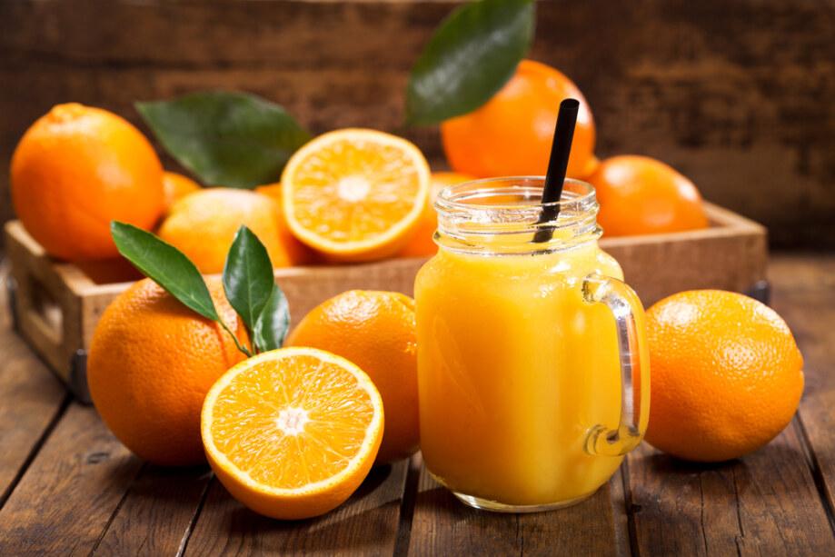 Glass,Jar,Of,Fresh,Orange,Juice,With,Fresh,Fruits,On